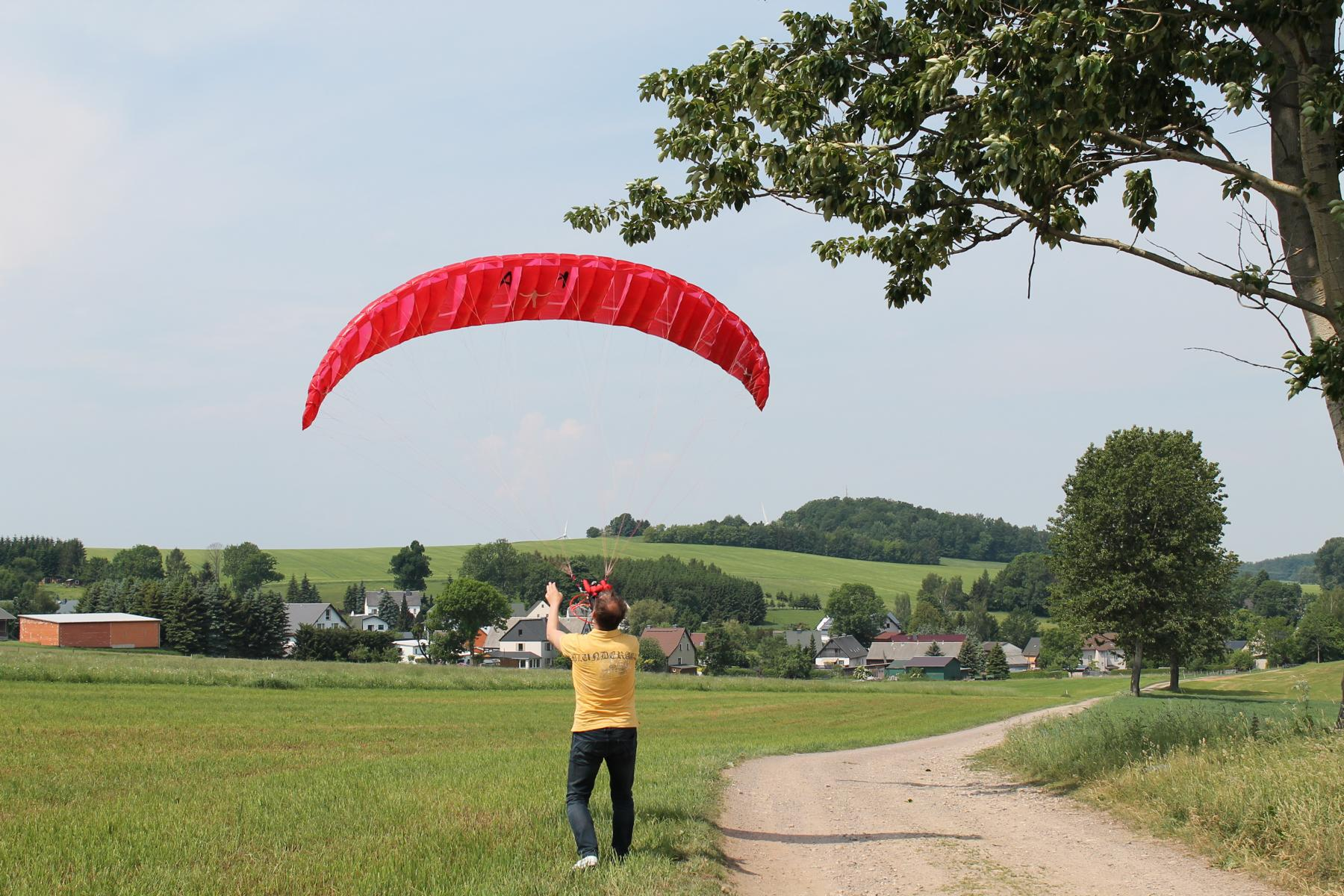 RC-Paragliding with fun