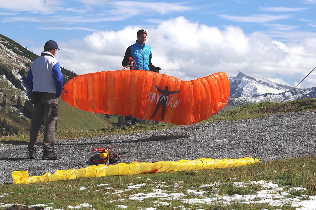 """X-Alps – der """"Neue"""" RC-Paraglider von Sascha Rentel und SKYMAN"""