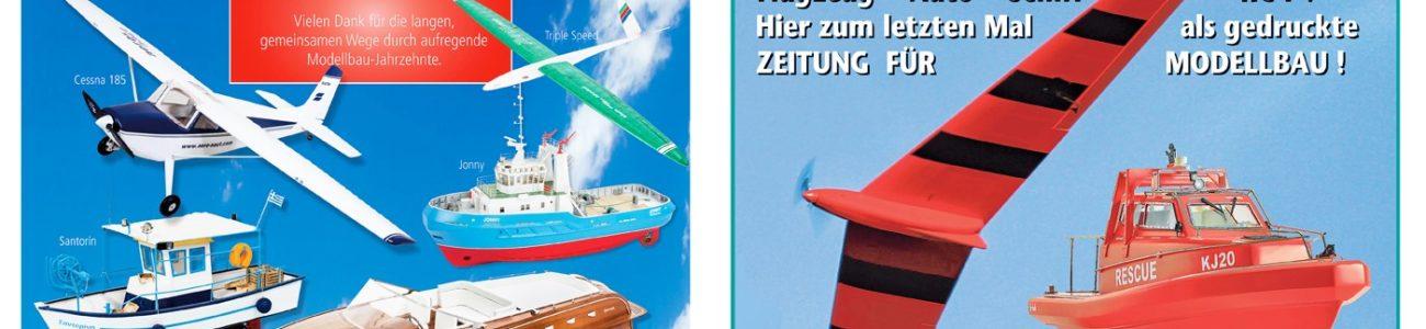RC-F – die letzte Ausgabe der Zeitung für den Modellbau
