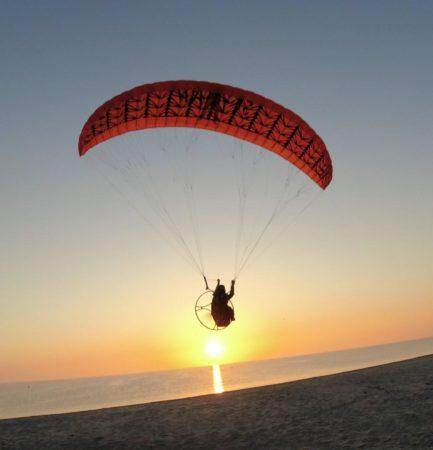 RC-Paragliding auf dem Fischland-Darss-Zingst